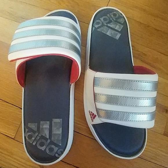 484cadc2a08f adidas Other - Men s Adidas Zeitfrei Slides Size 10